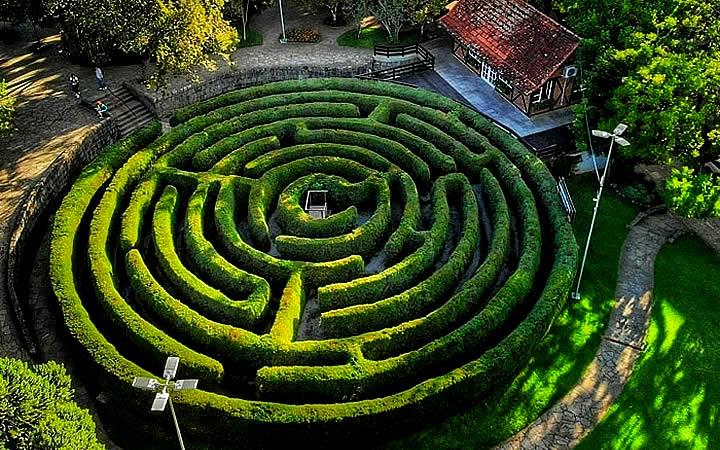Labirinto Verde - Nova Petrópolis, Rota Romântica